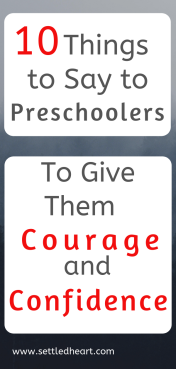 10 Things to Say to Preschoolers 1